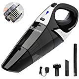 Handheld Vacuum,hikeren Cordless Vacuum Cleaner, 12V 100W with Quick Charge, Light Weight Portable...