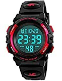 Dodosky Boy Toys Age 5-12, LED 50M Waterproof Digital Sport Watches for Kids Birthday Presents Gifts...