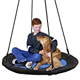 SUPER DEAL 40' Waterproof Saucer Tree Swing Set - 360 Rotate° - Attaches to Trees or Existing Swing...