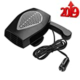 Portable Car Heater, Fast Heating Defrost Defogger Space Automobile Windscreen Heater, Heat Cooling...