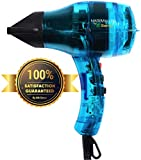 Professional Ionic Hair Dryer Handcrafted in France for Europe's Finest Salons, Featherweight, Dual...