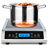 Duxtop LCD P961LS Professional Portable Induction Cooktop Commercial Range Countertop Electric...