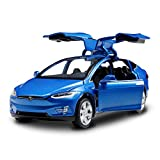 Diecast Model Cars Toy Cars Alloy Pull Back Toy Car with Sound and Light Toy Kids Toys 1/32 Scale...