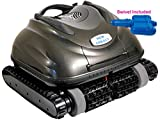 Nu Cobalt NC74 Wall Climber Scrubber Smart Logic Robotic Pool Cleaner with Caddy and Swivel Ideal...