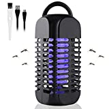 Electric Bug Zapper - Portable Standing or Hanging Design Perfect for Home/Bedroom/Office/Indoor...