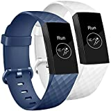 Tobfit Bands Compatible with Fitbit Charge 3 Bands for Women Men Replacement for Fitbit Charge 3 SE...