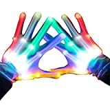 WIKI Toys for 3-12 Year Old Boys, Kids Colorful Flashing Finger The Best Gloving Toys for Boys Age...