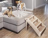 PetSafe Solvit PupSTEP Plus Pet Stairs, Foldable Steps for Dogs and Cats, Best for Small to Medium...