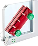 Tyroler Bright Tools Magnetic Window Cleaner (The Glider D-4) Indoor and Outdoor Glass Pane Cleaning...