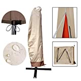 USspous Patio Umbrella Cover Cantilever Outdoor Umbrellas Cover Offset Market Durable Umbrella Cover...
