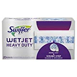 Swiffer Wetjet Heavy Duty Mop Pad Refills for Floor Mopping and Cleaning, All Purpose Multi Surface...