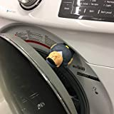Washer Door Prop - Helps Prevent Mold and Mildew Odors - Front Load Washing Machines (Buddy)