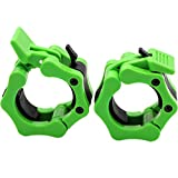 Barbell Collars 2 Inch Quick Release Pair Locking 2' Pro Olympic Bar Clip Lock Barbell Clamp 45lbs...