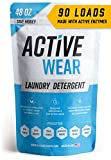 Active Wear Laundry Detergent - Formulated for Sweat and Workout Clothes - Natural Performance...