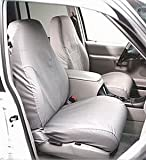 Covercraft SS3415PCGY SeatSaver Front Row Custom Fit Seat Cover for Select Ford F-250 Super...