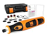 WEN 23072 Variable Speed Lithium-Ion Cordless Rotary Tool Kit with 24-Piece Accessory Set, Charger,...