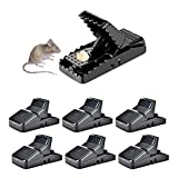 HARCCI Effective Rat Trap - Set of 6 - Ultimate Pest Control for Gophers, Voles, Mice and Rats at...