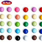 30Pcs Spherical Fridge Magnets with 15 Bright Colors, Inspired by the Film Up - Beautiful and Cute...