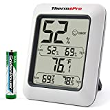 ThermoPro TP50 Digital Hygrometer Indoor Thermometer Room Thermometer and Humidity Gauge with...