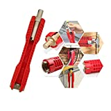 (8-in-1) faucet and sink installer,multi-purpose wrench plumbing tool for Toilet...