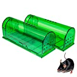 Humane Mouse Trap - Mouse Traps That Work - Best Mouse, Mice and Rat Trap - Plastic Traps Live Catch...