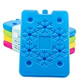 Blue Ele BE01 Ice Pack for Lunch Box and Cooler, BPA Free, Reusable and Long Lasting, Slim and...