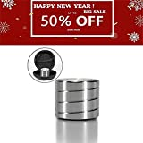 Bili-silly 2018 VORTECON Kinetic Desk Toy Stainless Steel Spinning Top for kid Adult Spinning Toy...