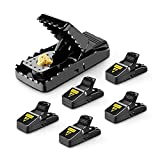 ESENVIS Mouse Trap, Mice Traps That Work Best Snap Traps for Small Mice and Mouse Outdoor Indoor...