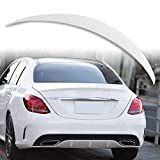 Painted Factory Print Code A Style ABS Trunk Spoiler For Mercedes Benz C-Class W205 Sedan 2015-2019...