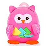 Nice Choice Cute Toddler Backpack Toddler Bag Plush Animal Cartoon Mini Travel Bag for Baby Girl Boy...