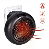 GHONZLIN Mini Heater, Mini Instant Heater,Thermostat Electric Heater with Timer Fan Heater,Compact...