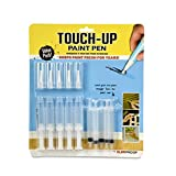 Slobproof Touch Up Paint Pen | Fillable Paint Brush Pens for Wall Paint Touch-Ups, Drywall Repair &...