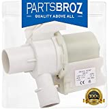WH23X10030 Washing Machine Drain Pump for GE Washers by PartsBroz - Replaces Part Numbers AP5803461,...