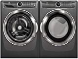 Electrolux Titanium Front Load Laundry Pair with EFLS627UTT 27 Washer and EFME627UTT 27 Electric...