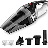 Homasy Portable Handheld Vacuum Cleaner Cordless, Powerful Cyclonic Suction Vacuum Cleaner, 14.8V...