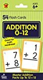 Carson Dellosa - Addition Flash Cards Facts 0 to 12 - 54 Cards with 100 Problems for 1st and 2nd...