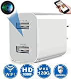 Spy Camera Wireless Hidden WiFi Camera with Remote Viewing, 2019 Newest Version 1080P HD Nanny...