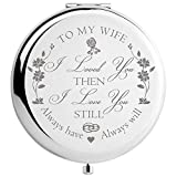DIDADIC Wife Gifts Romantic for Birthday Mothers Day, Wifey Gifts for Bride, for Her, Women Gift...