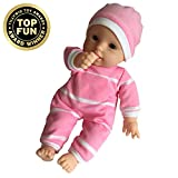 11 inch Soft Body Doll in Gift Box - Award Winner & Toy 11' Baby Doll (Caucasian)
