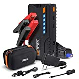 TACKLIFE T6 Car Jump Starter - 600A Peak 12V Auto Battery Jumper (up to 6.2l gas, 5.0l diesel),...