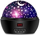 Newest Night Light,Multiple Colors Star Light Rotating Projector with Timer Auto Shut for Kids and...