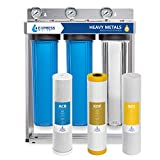 Express Water Heavy Metal Whole House Water Filter - 3 Stage Home Water Filtration System -...