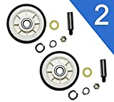 303373K Roller Wheel Drum Support Kit for Maytag & Admiral Dryers by PartsBroz - Replaces Part...