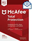 McAfee Total Protection|Antivirus| Internet Security| Unlimited Devices| 1 Year Subscription|...