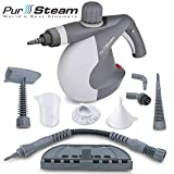 PurSteam World's Best Steamers Chemical-Free Cleaning Pressurized Cleaner with 9-Piece Accessory Set...