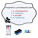 Magnetic Dry Erase Whiteboard Sheet for Fridge with New Stain Resistant Technology Kitchen...