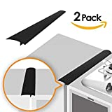 Linda's Silicone Kitchen Stove Counter Gap Cover Long & Wide Gap Filler (2 Pack) Seals Spills...