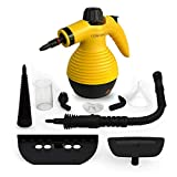 Comforday Surface & Much Multi-Purpose Handheld Pressurized Steam Cleaner with 9 Piece Accessories...