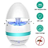 Bug Zappers, Electronic Indoor Mosquito Killer Lamp, Insect Killer, Safe USB Powered Mosquito Zapper...