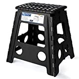 Acko 16 Inches Super Strong Folding Step Stool for Adults and Kids, Kitchen Stepping Stools, Garden...